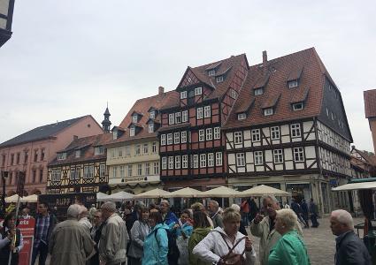 ドイツを拠点に各地を旅する