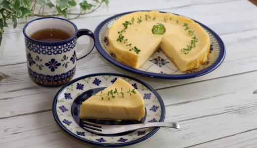 超簡単!キャラメルボトムチーズケーキレシピ~無水料理~